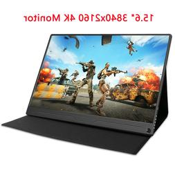 """UPERFECT 15.6"""" 4K Ultra Slim HDR Portable Monitor IPS 3840x2"""