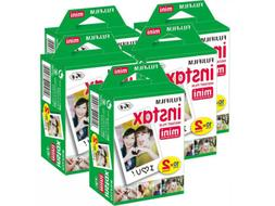 20-40-50-60 & 100 Prints Fujifilm instax instant film For Fu