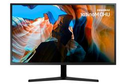 "Samsung 32"" Wide Screen 4K UHD LED Monitor - LU32J590UQN - U"