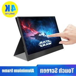 <font><b>4K</b></font> Touch Screen Portable <font><b>Monito