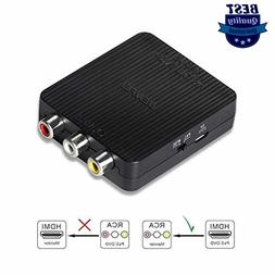 HDMI to AV, BENFEI HDMI to RCA CVBs Adapter Supports PAL/NTS