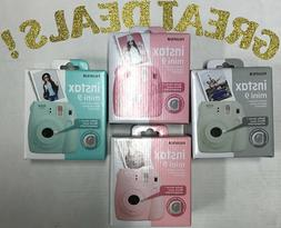 Fujifilm Instax Mini 9 Instant Camera with Selfie Mirror
