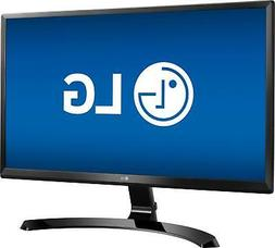 NEW LG 24UD58-B 24in Full HD IPS LED Monitor  24-in LCD Ultr